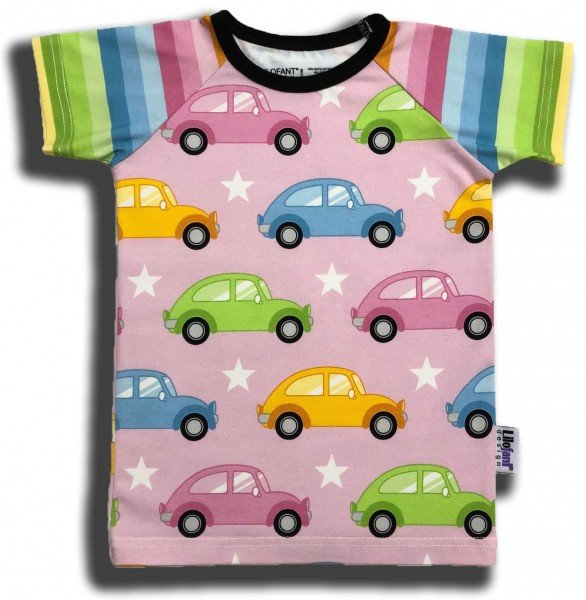 Lilofant T-Shirt Pink Cars